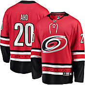 NHL Men's Carolina Hurricanes Sebastian Aho #20 Breakaway Home Replica Jersey