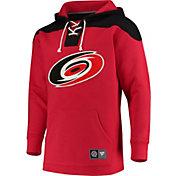 NHL Men's Carolina Hurricanes Breakaway Red Pullover Sweatshirt