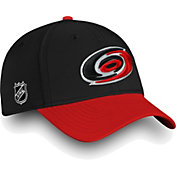 NHL Men's Carolina Hurricanes Iconic Black Flex Hat