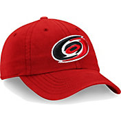 NHL Men's Carolina Hurricanes Core Red Adjustable Hat