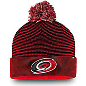 NHL Men's Carolina Hurricanes Waffle Knit Beanie