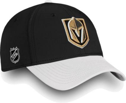 NHL Men s Vegas Golden Knights Iconic Black Flex Hat. noImageFound 71e1801181a4