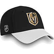 NHL Men's Vegas Golden Knights Iconic Black Flex Hat
