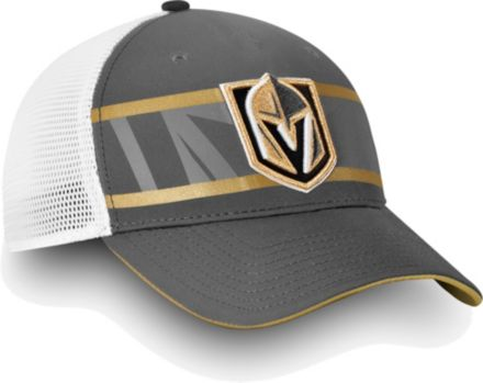info for 585ad cfe1b NHL Men  39 s Vegas Golden Knights Authentic Pro Second Season Grey Trucker  Adjustable