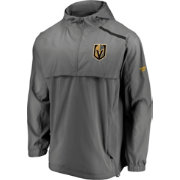 NHL Men's Vegas Golden Knights Authentic Pro Grey Anorak Jacket
