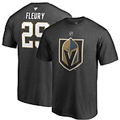 NHL Men's Vegas Golden Knights Marc-Andre Fleury #29 Heather Grey Player T-Shirt