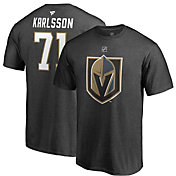 NHL Men's Vegas Golden Knights William Karlsson #71 Heather Grey Player T-Shirt