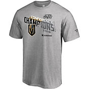 NHL Men's 2018 NHL Western Conference Champions Vegas Golden Knights Logo Locker Room T-Shirt