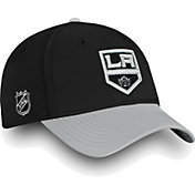NHL Men's Los Angeles Kings Iconic Black Flex Hat
