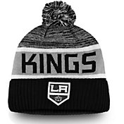 NHL Men's Los Angeles Kings Authentic Pro Rinkside Goalie Black Cuffed Knit Beanie