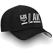 NHL Men's Los Angeles Kings Authentic Pro Rinkside Alpha Black Adjustable Hat