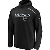NHL Men's Los Angeles Kings Authentic Pro Transitional Black Pullover Hoodie