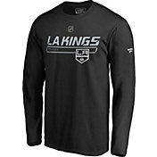NHL Men's Los Angeles Kings Authentic Pro Prime Black Long Sleeve Shirt