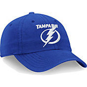 NHL Men's Tampa Bay Lightning Core Blue Adjustable Hat