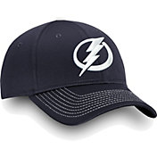NHL Men's Tampa Bay Lightning Depth Alpha Blue Adjustable Hat