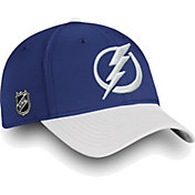 NHL Men's Tampa Bay Lightning Iconic Blue Flex Hat