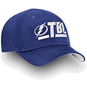 NHL Men's Tampa Bay Lightning Authentic Pro Rinkside Alpha Blue Adjustable Hat