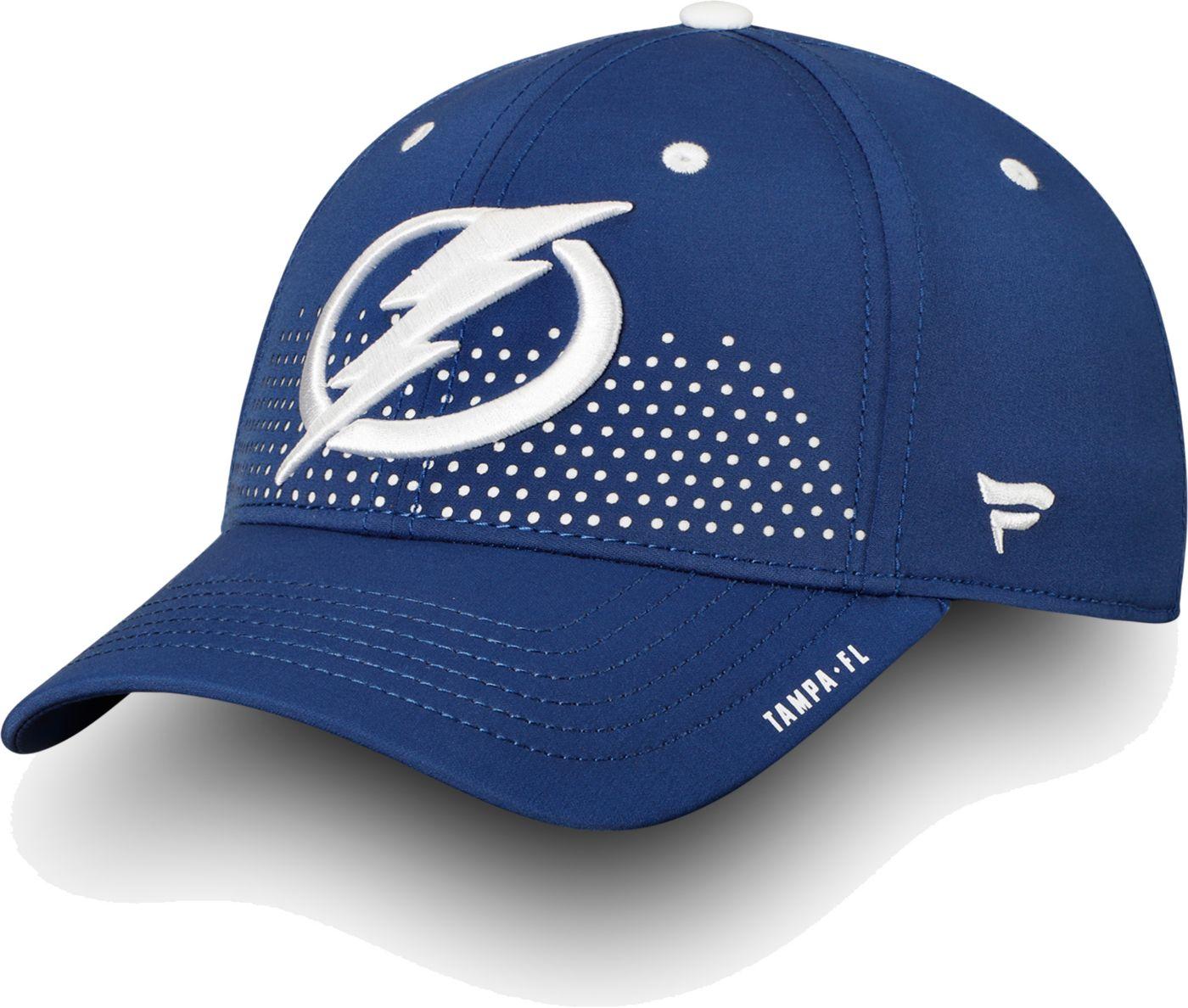 NHL Men's Tampa Bay Lightning 2018 NHL Draft Structured Royal Flex Hat