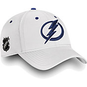 NHL Men's Tampa Bay Lightning Authentic Pro Rinkside Speed White Flex Hat