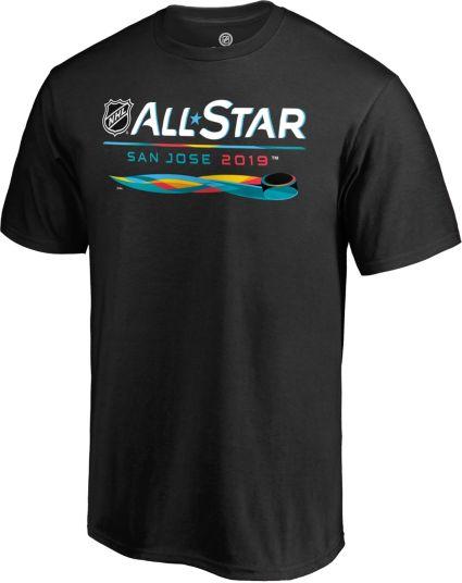 35569b414 NHL 2019 NHL All-Star Game Overtime Black T-Shirt. noImageFound