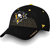 NHL Men's Pittsburgh Penguins 2018 NHL Draft Structured Black Flex Hat