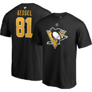 NHL Men's Pittsburgh Penguins Phil Kessel #81 Black Player T-Shirt