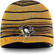 NHL Men's Pittsburgh Penguins Iconic Knit Beanie