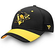 NHL Men's 2019 Stadium Series Pittsburgh Penguins Trucker Black Adjustable Hat