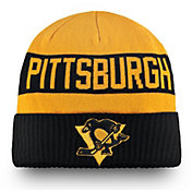 NHL Men's 2019 Stadium Series Pittsburgh Penguins Black Cuffed Knit Beanie