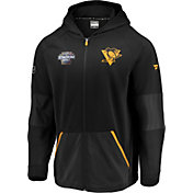 NHL Men's 2019 Stadium Series Pittsburgh Penguins Rink Black Full-Zip Hoodie