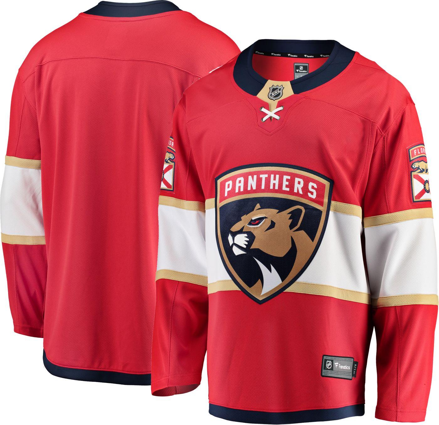 NHL Men's Florida Panthers Breakaway Home Replica Jersey