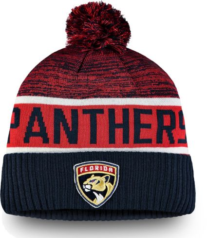 best sneakers 4b9d1 32de0 ... order nhl mens florida panthers authentic pro rinkside goalie navy cuffed  knit beanie 40c11 dd228 hot mens fanatics branded ...