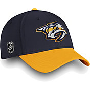 NHL Men's Nashville Predators Iconic Gold Flex Hat