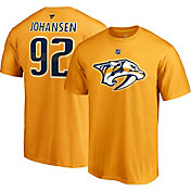 NHL Men's Nashville Predators Ryan Johansen #92 Gold Player T-Shirt