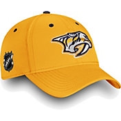 NHL Men's Nashville Predators Authentic Pro Rinkside Speed Gold Flex Hat