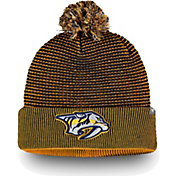 NHL Men's Nashville Predators Waffle Knit Beanie