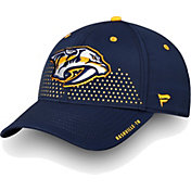 NHL Men's Nashville Predators 2018 NHL Draft Structured Navy Flex Hat