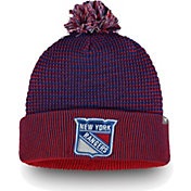 NHL Men's New York Rangers Waffle Knit Beanie