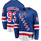 NHL Men's New York Rangers Nika Zibanejad #93 Breakaway Home Replica Jersey