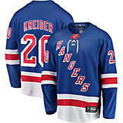 NHL Men's New York Rangers Chris Kreider #20 Breakaway Home Replica Jersey