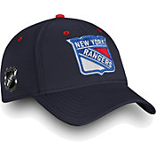 NHL Men's New York Rangers Authentic Pro Rinkside Speed Navy Flex Hat