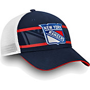 NHL Men's New York Rangers Authentic Pro Second Season Navy Trucker Adjustable Hat