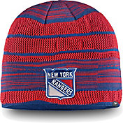 NHL Men's New York Rangers Iconic Knit Beanie