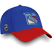 NHL Men's New York Rangers Iconic Royal Flex Hat