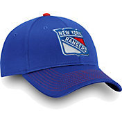 NHL Men's New York Rangers Depth Alpha Red Adjustable Hat