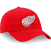 NHL Men's Detroit Red Wings Core Red Adjustable Hat