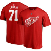 NHL Men's Detroit Red Wings Dylan Larkin #71 Red Player T-Shirt