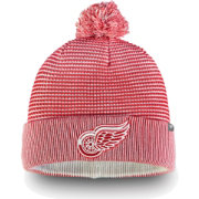 NHL Men's Detroit Red Wings Waffle Knit Beanie