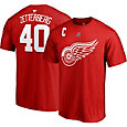 NHL Men's Detroit Red Wings Henrik Zetterberg #40 Red Player T-Shirt