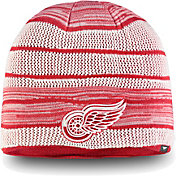 NHL Men's Detroit Red Wings Iconic Knit Beanie